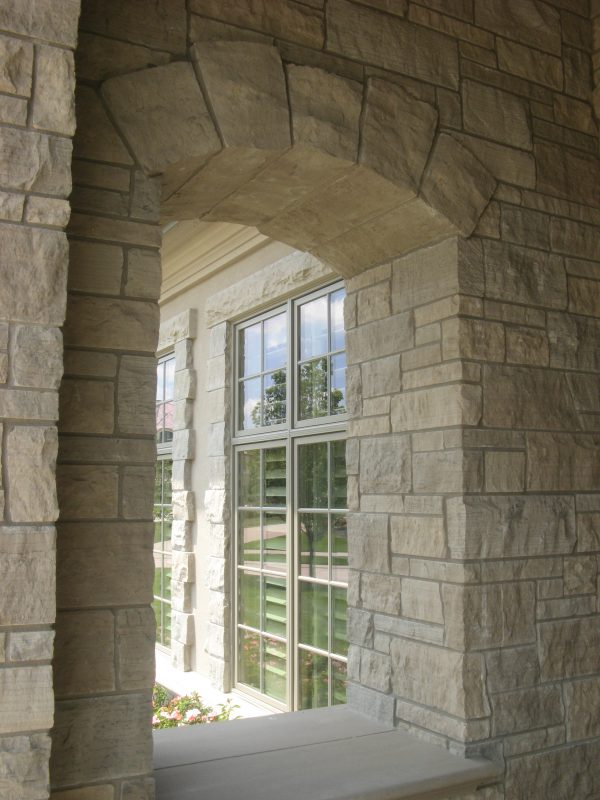 Natural Stone Archways and Homes