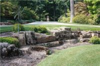 weathered limestone landscaping stone